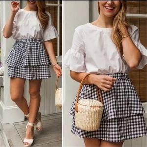 🆕 Madewell | Ruffle Layered Skirt
